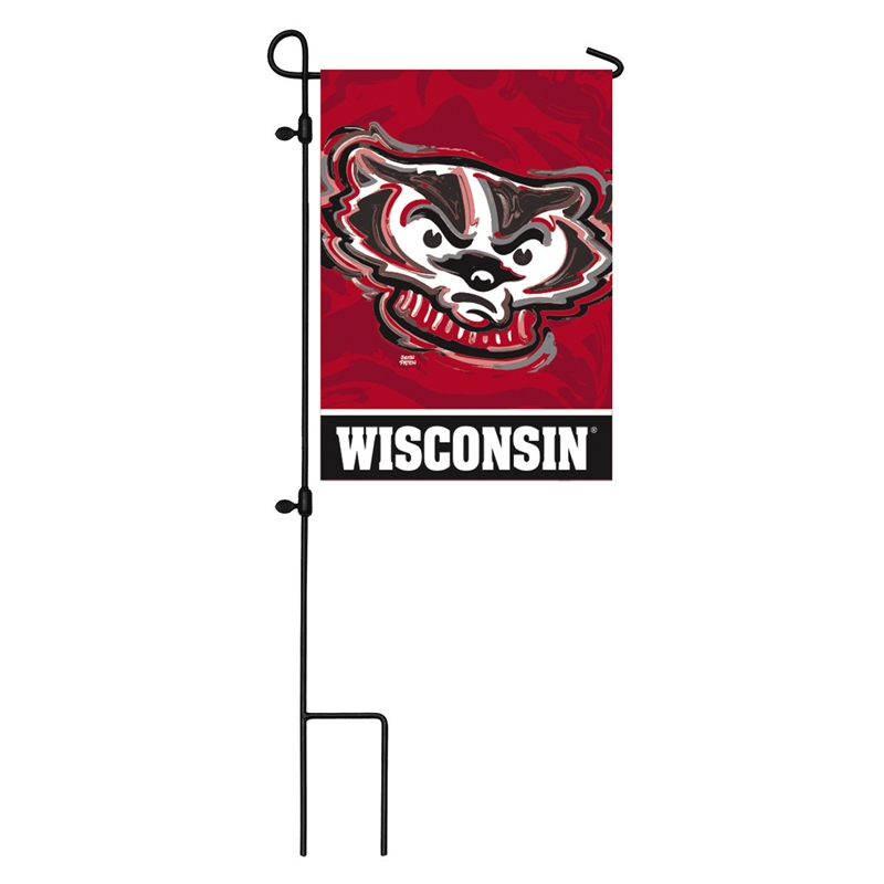 University of Wisconsin Madison Garden Flag