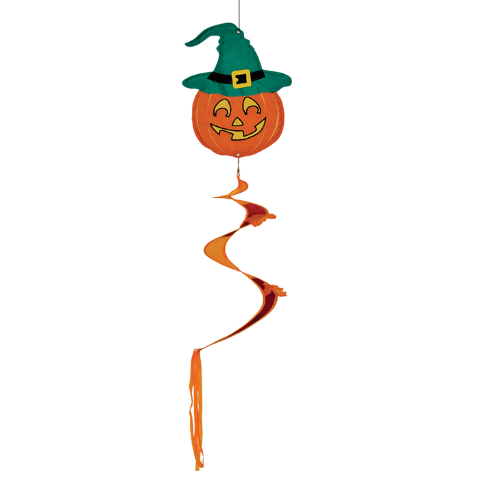 Halloween - Jack O'Lantern Twister Tail