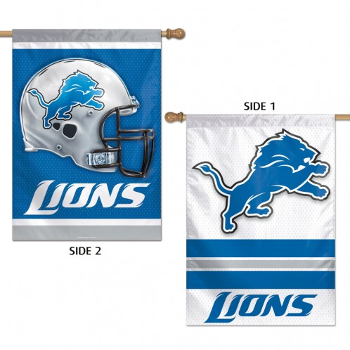 Detroit Lions 2 Sided Flag