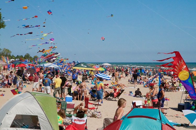 2018 Kites Over Lake Michigan