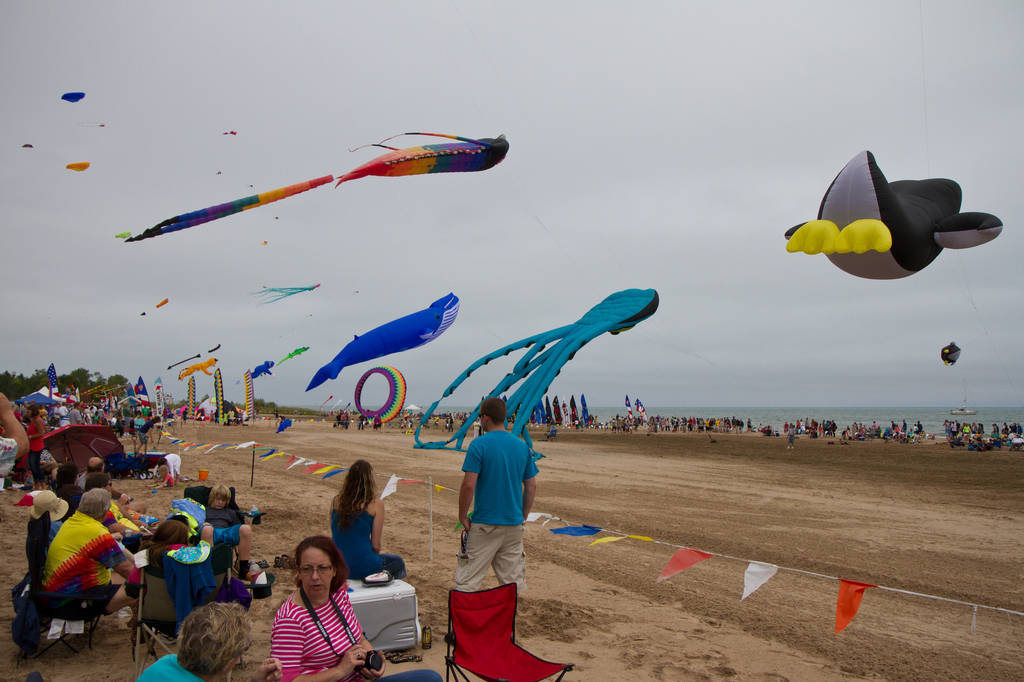 2015 Kites Over Lake Michigan